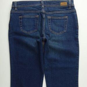 London Jeans Flare Leg 8 Long Womens Stretch C251P